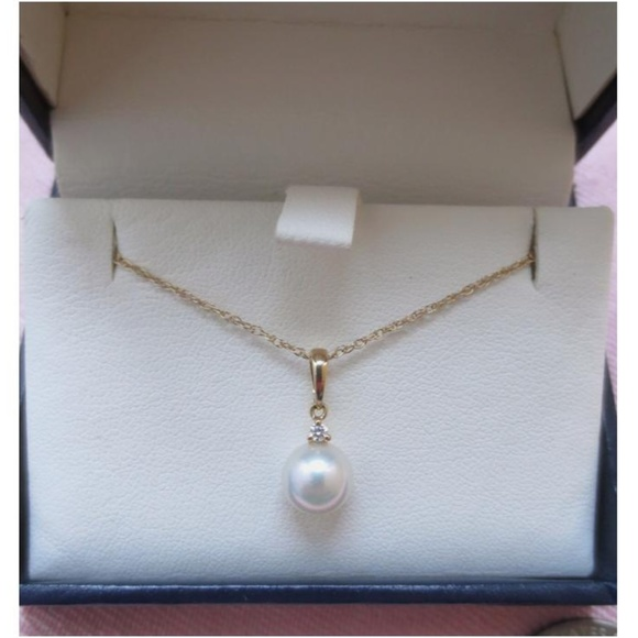 Kay Jewelers Jewelry - Sea Magic Cultured Pearl & Diamond Necklace